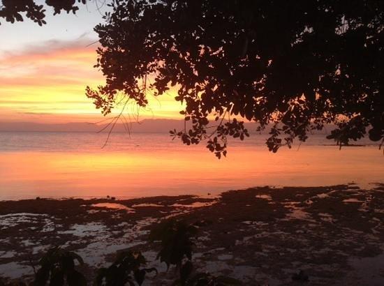 Moalboal T Breeze Coastal Resort: sunset