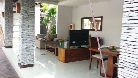 The Wolas Villas & Spa: Lounge