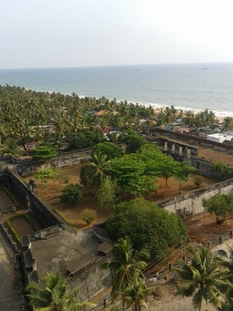 Anchuthengu and Anjengo Fort: View from the light house