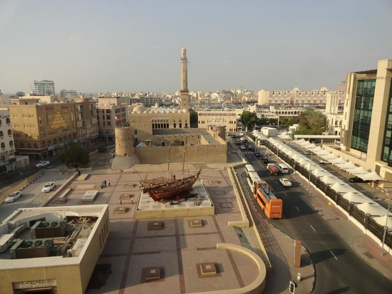 Arabian Courtyard Hotel & Spa: a view from the 6th floor