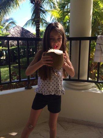 The Reserve at Paradisus Punta Cana: Un desayuno! Gentilmente se lo dieron por el balcón maravilloso