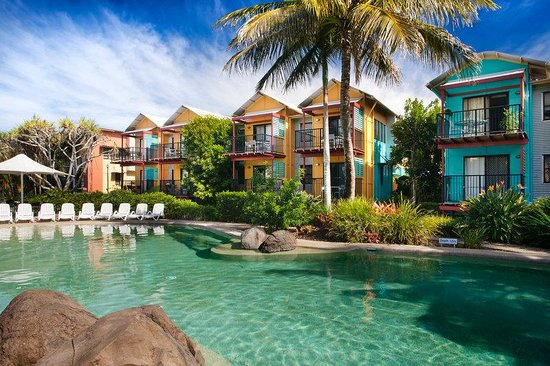 Noosa Lakes Resort: Villa Swimming Pool View