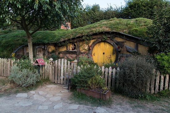 Hobbit Haus ein hobbit haus a house of a hobbit bild hobbiton set