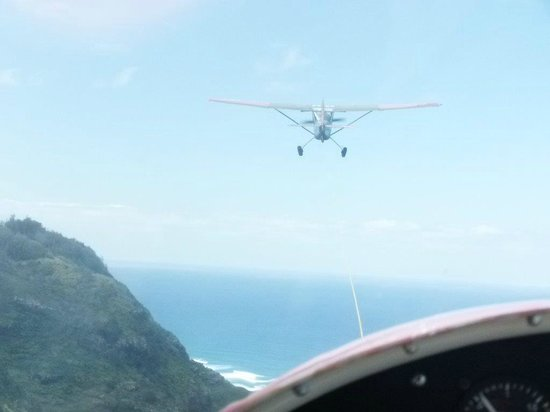 Honolulu Soaring: The view from the glider