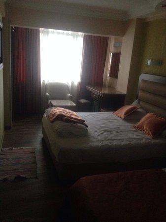 Ephesus Hotel: Chambre en fin de vacances