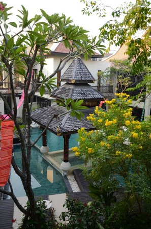 Puripunn Baby Grand Boutique Hotel : Pool View