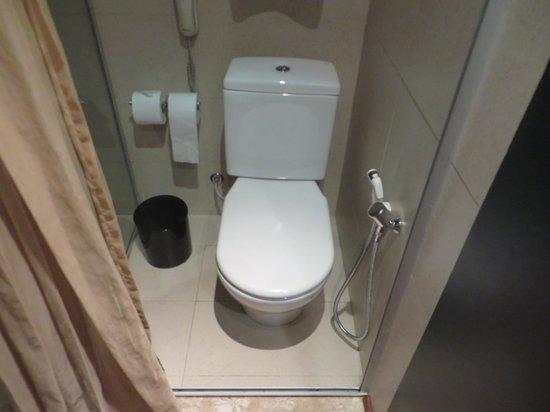 Zank by Toque Hotel : les wc à l'étroit!!