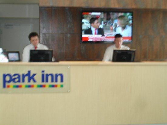 Park Inn Hotel Prague : Reception Area
