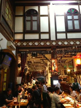 Hopf Brew House Pattaya Interior