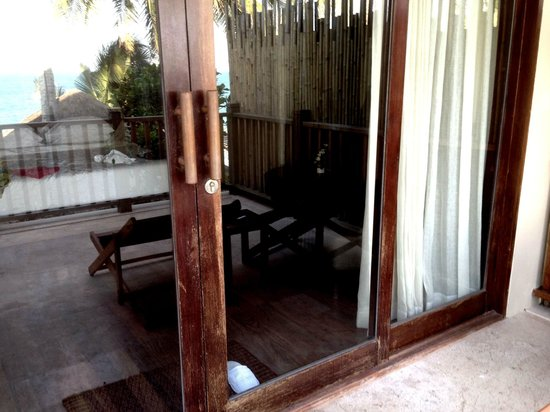 Anantara Rasananda Koh Phangan Villas: Terassentür