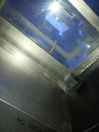 Plate-forme d'observation du GE Building : ascensor