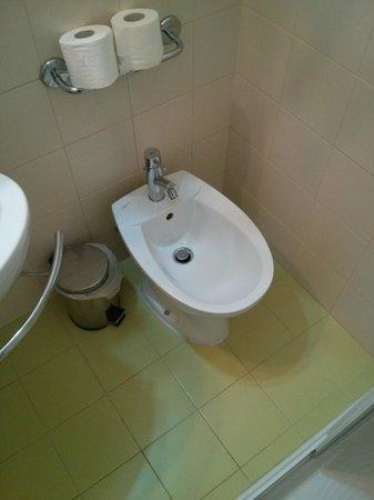 Hotel Mondial : Sanitari Camera Doppia letti singoli