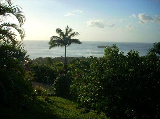 Gite Macanao: vue de la terrasse