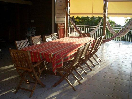 Gite Macanao: terrasse