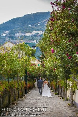 Wedding In Ravello Amalfi Coast Italy W P Mario Capuano