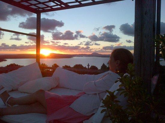 Hotel Art & Spa Las Cumbres: puesta de sol