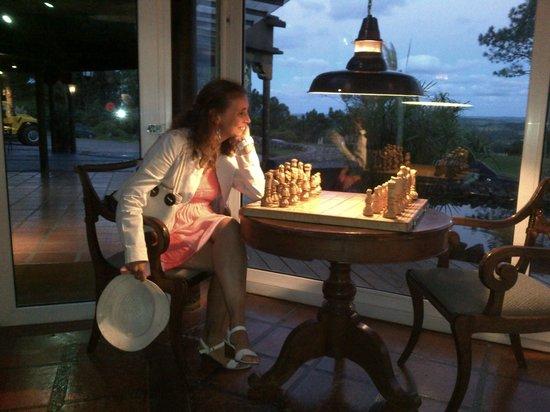 Hotel Art & Spa Las Cumbres: ajedrez