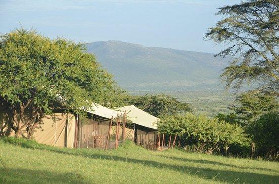 Enkewa Camp: Vista desde la zona del comedor