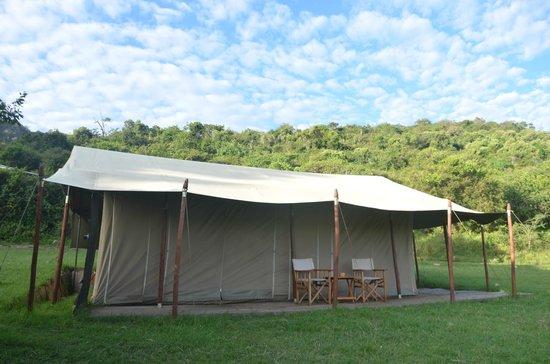 """Enkewa Camp: Mi habitación, te sientes como en """"Memorias de Africa"""""""