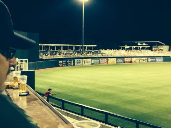 CenturyLink Sports Complex - Hammond Stadium: LF new view