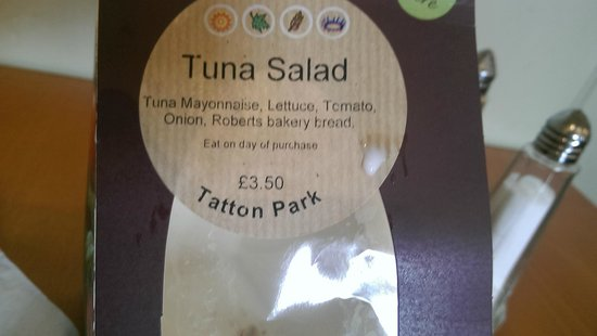 Tatton Park : Falsely advertised Sandwich (March 2014).  It was actually Tuna, Tomato & Cucumber.  I hate cucu