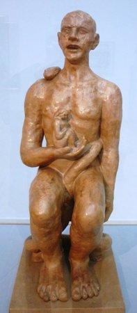 "Hamburger Kunsthalle: A major new purchase- Beckmann sculpture ""Adam and Eve"""