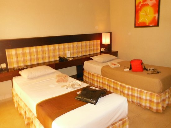 Fourteen Roses Beach Hotel: Deluxe twin bed room