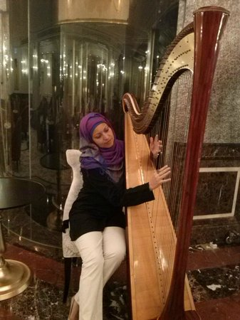 Wyndham Grand Regency Doha: In the hall you feel pure music