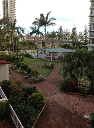 Key Largo Apartments: View from 2nd floor