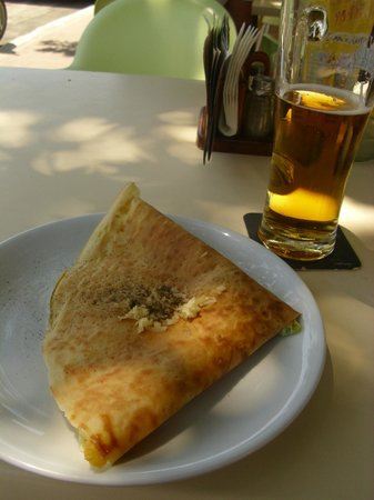 Crazy Taste: Pancake and beer