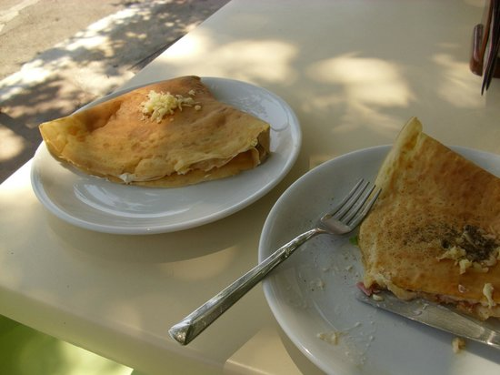 Crazy Taste: Two pancakest at the time