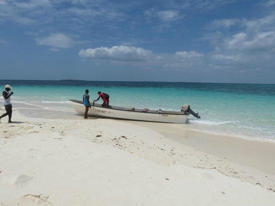Mamamapambo Boutique Hotel: paradise island tour