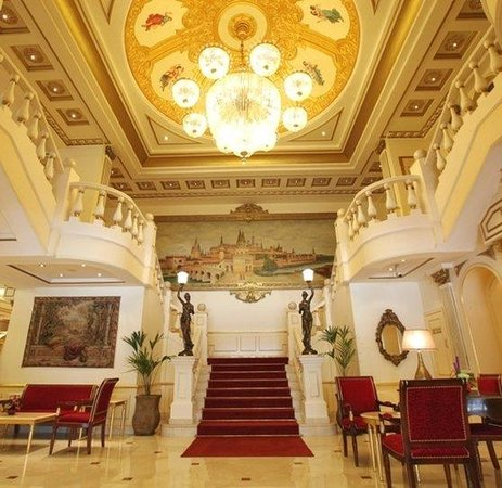 Moscow Hotel: Lobby view