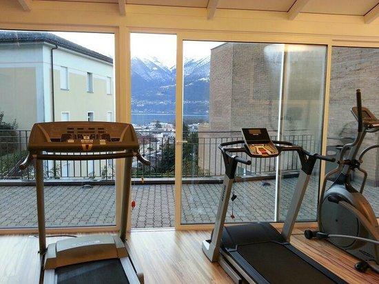 Hotel Belvedere Locarno: Fitnessraum