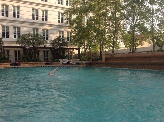 Park Hyatt Saigon: An Oasis in a bustling city. Great Service with fresh fruit and juices