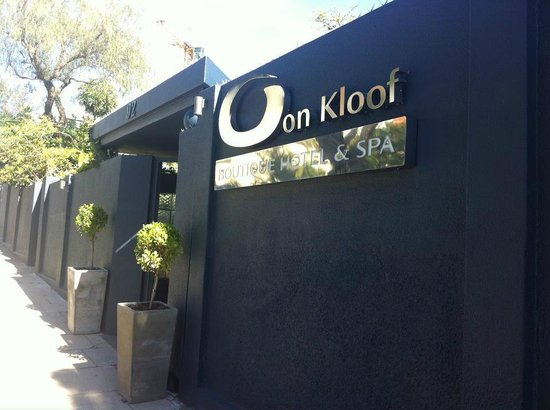 O on Kloof Boutique Hotel & Spa: Entrance