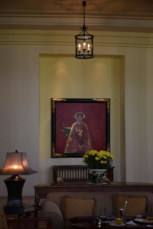 Park Hyatt Saigon: One of many incredible pieces of local Art on view through this great hotel