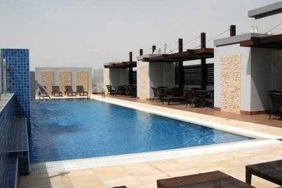 Tulip hotel apartments dubai united arab emirates reviews photos price comparison for Dubai airport swimming pool price