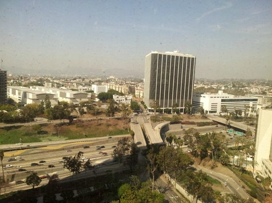 The Westin Bonaventure Hotel & Suites: View from room 2630