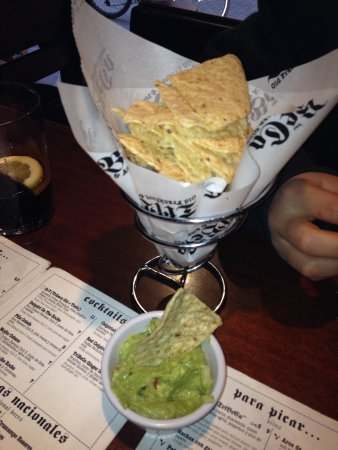 Tribeca Music Bar : Nachos guacamole