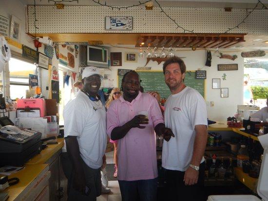 Jib Room: Jason, Stephen, Desmond -  Staff