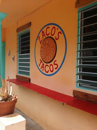 Zaco's Tacos: Store front