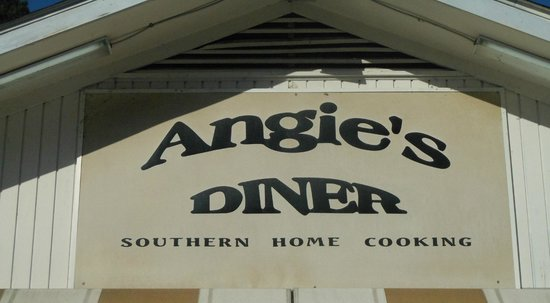 Angie's Diner: Sign