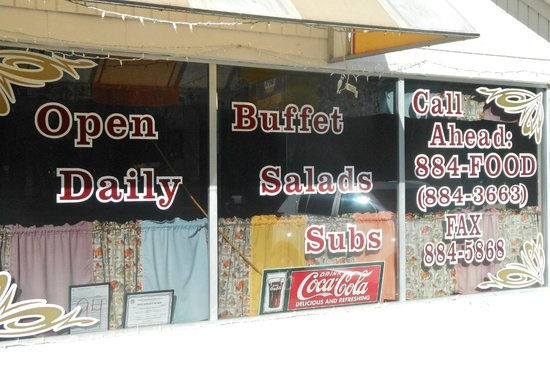 Angie's Diner: Store front