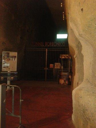 Galleria Borbonica: Ingresso