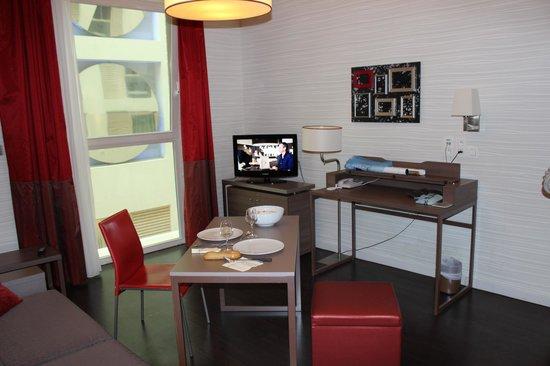 Adagio Brussels Centre Monnaie: studio 2 personnes