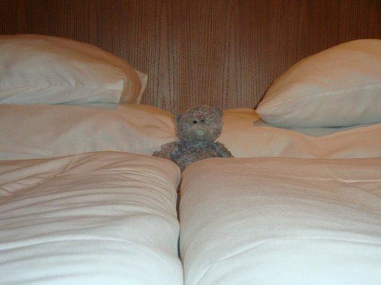 Royal Court Hotel: Очень удобная кровать )