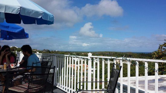 Las Vistas Cafe at Siete Mares Bay Inn: The view!