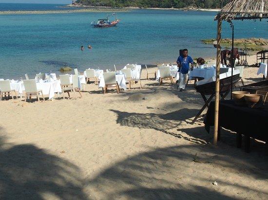 Anantara Lawana Koh Samui Resort : Strandbereich Anantara Lawana