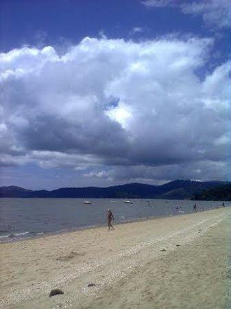 Jabaquara Beach: Praia do Jabaquara cedo